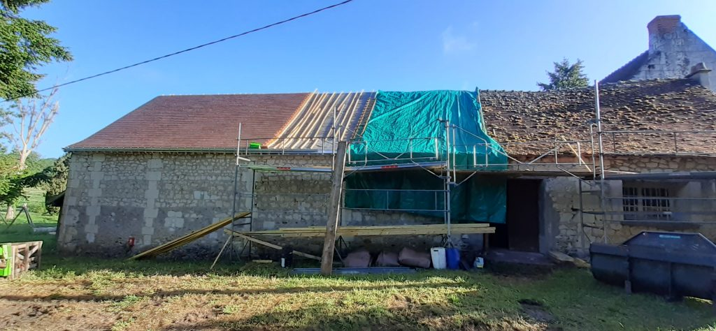 La rénovation des toitures est lancée